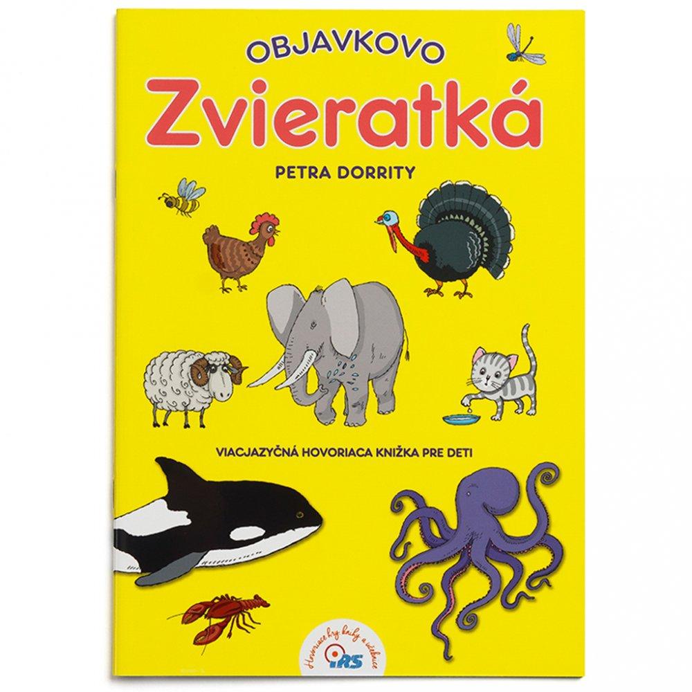 Geniuso hovoriaca kniha Objavkovo Zvieratka
