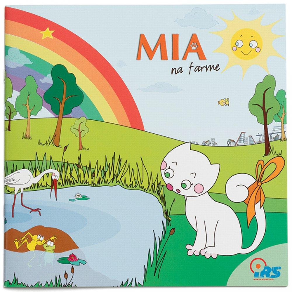 Geniuso hovoriaca kniha Mia na farme