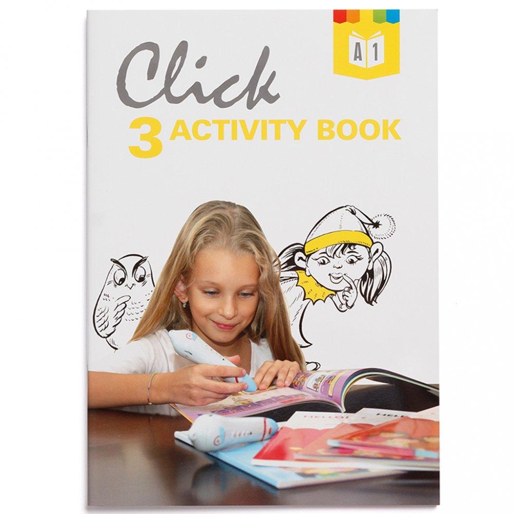 Geniuso Pracovny zosit Activity book Click Interactive English 3