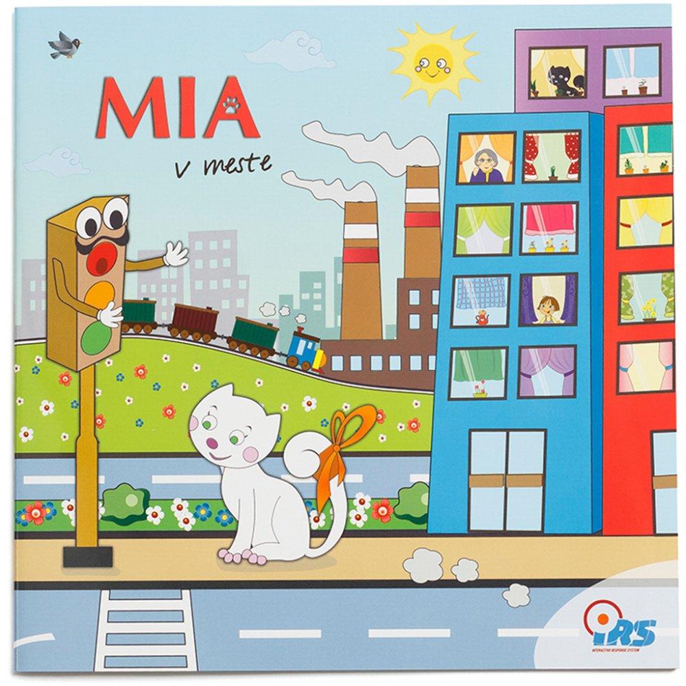 Geniuso hovoriaca kniha Mia v meste