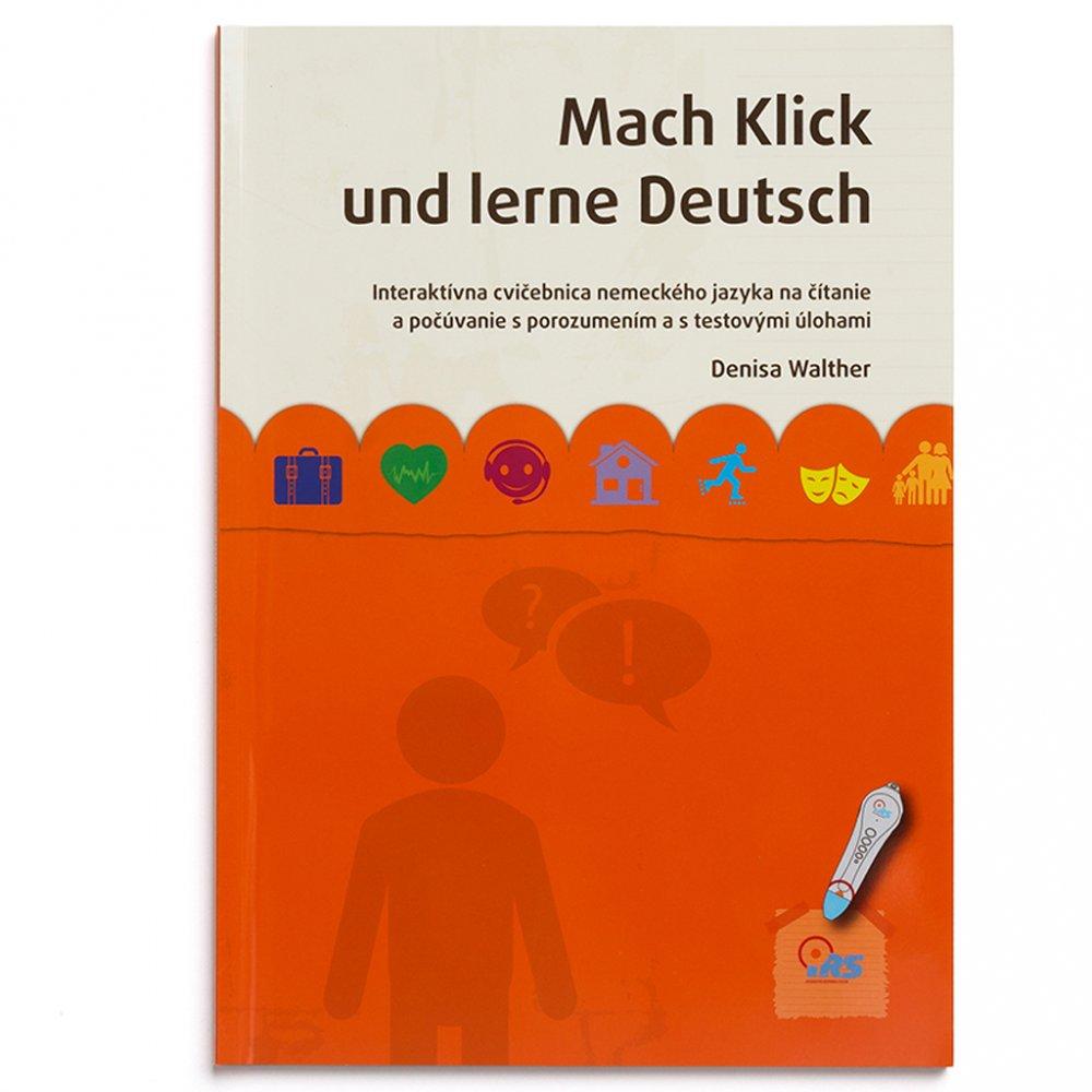 Geniuso hovoriaca ucebnica nemciny Mach Klick und lerne Deutsch