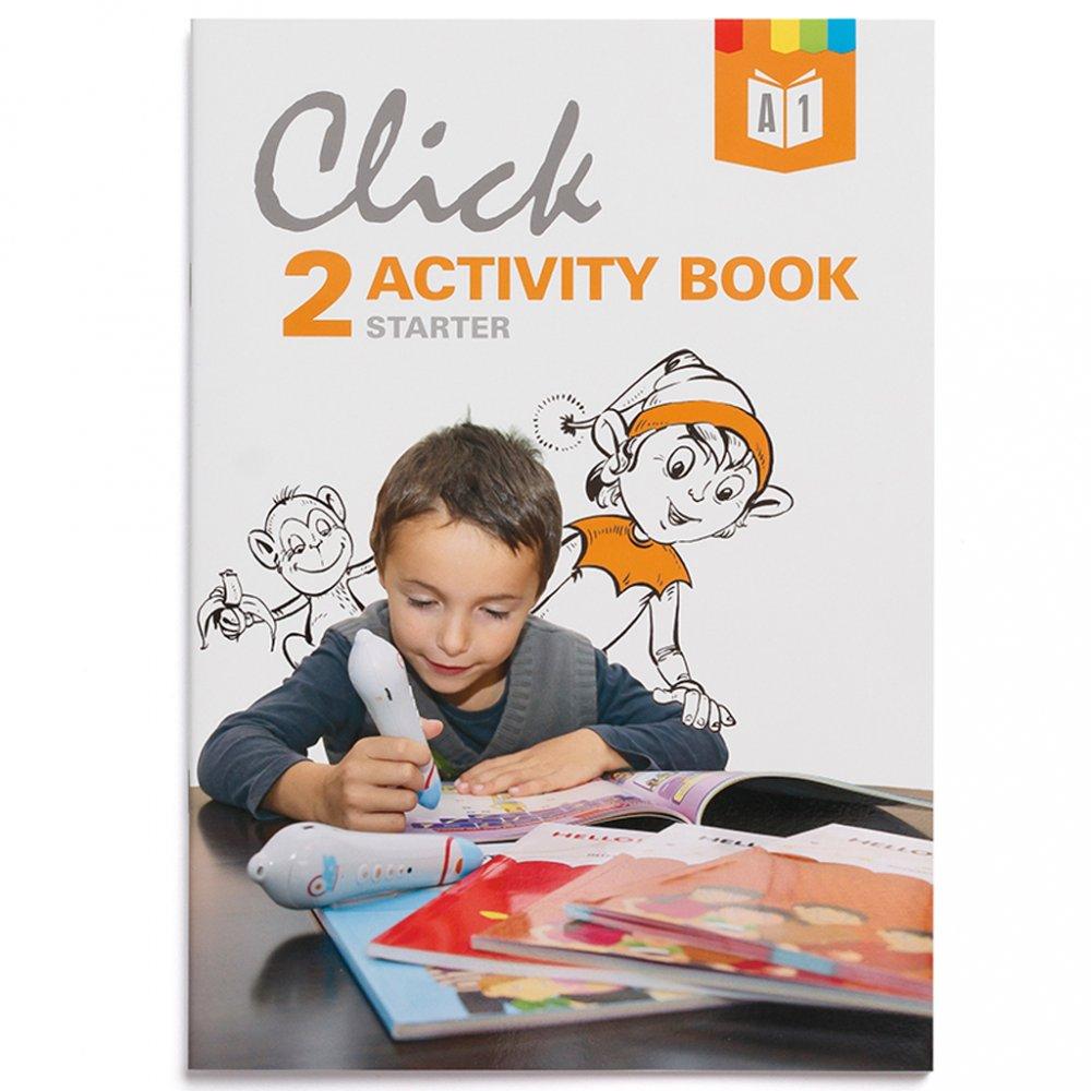 Geniuso Pracovny zosit Activity book Click Interactive English 2