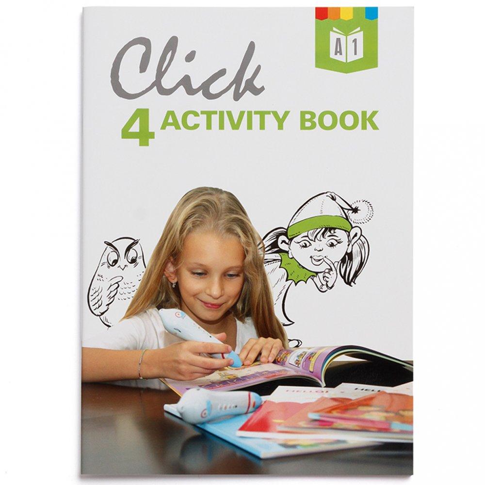 Geniuso Pracovny zosit Activity book Click Interactive English 4