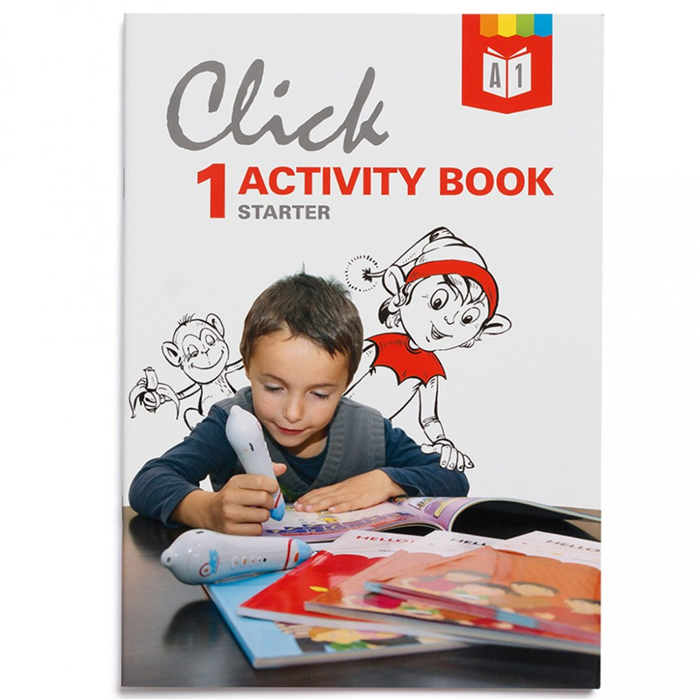 Geniuso Pracovny zosit Activity book Click Interactive English 1
